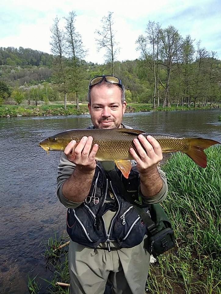 Jirkovi krásné ryby z Vlkošova.