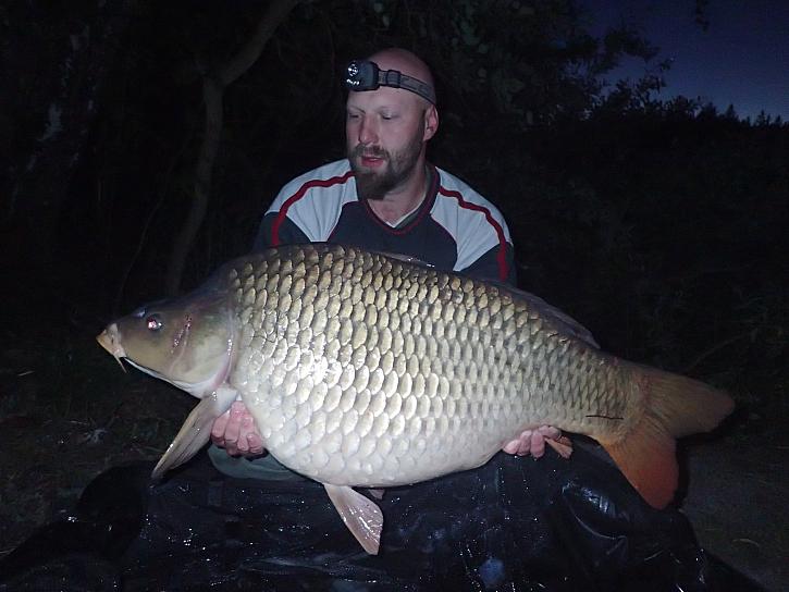Martin prožil krásné 4 dny u vody a povedlo se mu nachytat krásné ryby.