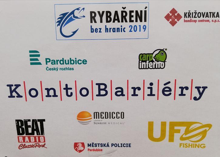 Super akceRybaření bez hranicna rybníku Na baště v Lázních Bohdaneč.