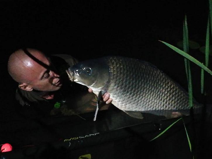 Didi opět prolovuje Rakouské revíry, kde by se nechali ryby spočítat na jedné ruce.