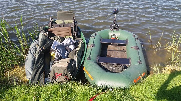 Tři dny na jezeře za pilou u Mariánských Radčic. Super tři dny.