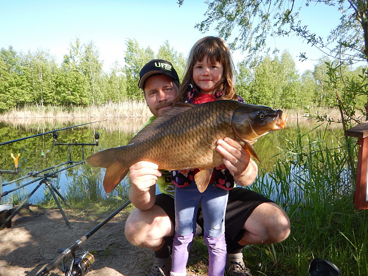 Braly hlavně ryby 7-8kg.