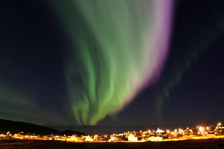 Polární záře v Norsku, Soroya